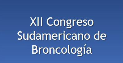 XII Congreso Sudamericano de Broncología – Save the date
