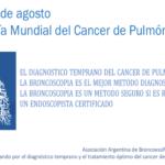 1ero de Agosto – Día Mundial del Cancer de Pulmón