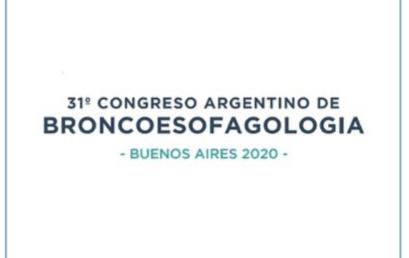 Seguinos en las redes sociales para las últimas novedades del Congreso de la Asociación Argentina de Broncoesofagologia