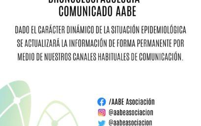 COMUNICADO AABE: CANCELACIÓN DEL CONGRESO DE BRONCOESOFAGOLOGÍA 2020